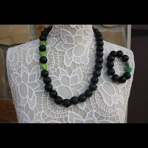 Wooden Bead Neckless,